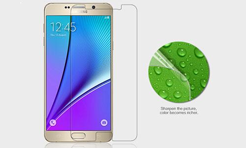 محافظ صفحه نمایش مات نیلکین سامسونگ Nillkin Matte Screen Protector Samsung Galaxy Note 5