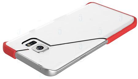 قاب محافظ شیشه ای سامسونگ Rock Pure Samsung Galaxy Note 5