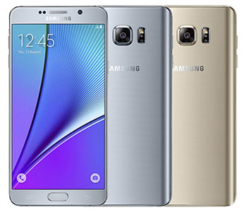 درب پشت Samsung Galaxy Note 5