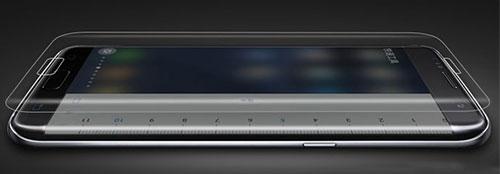 محافظ صفحه نمایش شیشه ای تمام صفحه گوشی سامسونگ s7 edge