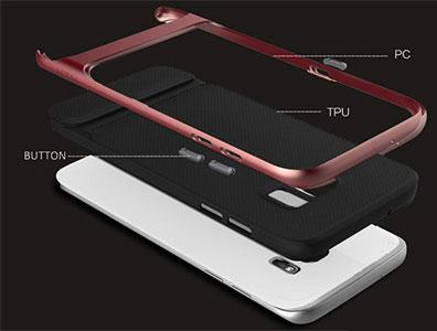 قاب محافظ راک سامسونگ Samsung S7 Edge