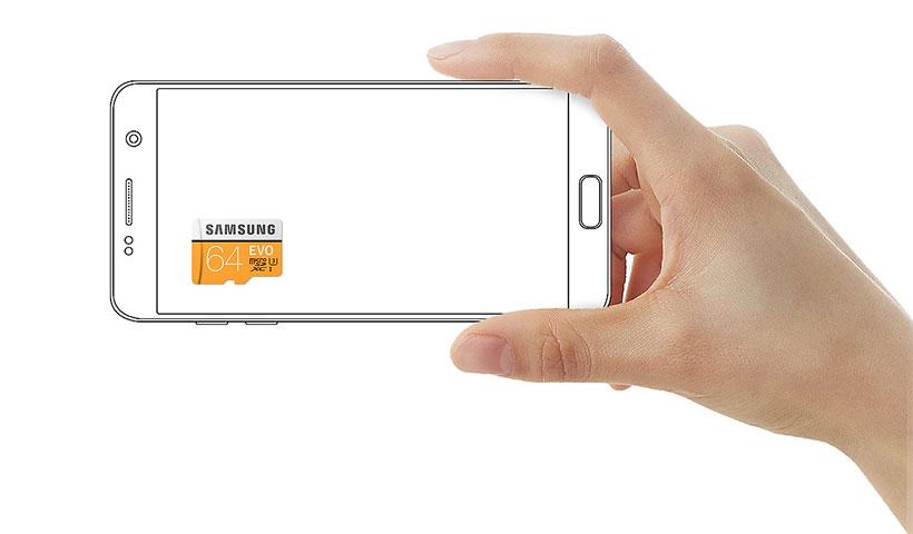 کارت حافظه MicroSD سامسونگ 100MB/s