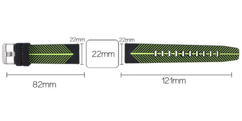 بند سیلیکونی ساعت هوشمند سامسونگ مدل Gear S3