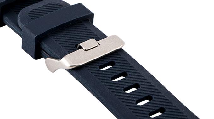 بند سیلیکونی ساعت هوشمند سامسونگ با سگک فلزی