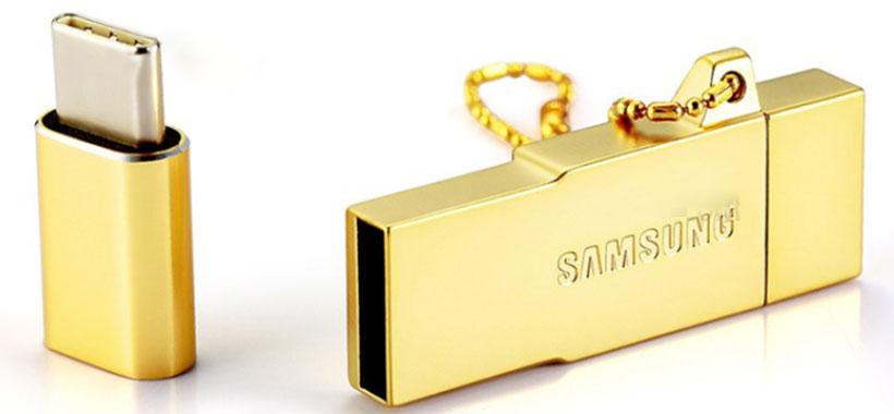دستگاه چند کاره کارت خوان سامسونگ OTG/USB/Card Reader/Type C 32GB