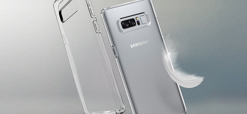 محافظ ژله ای اسپیگن سامسونگ Galaxy Note 8