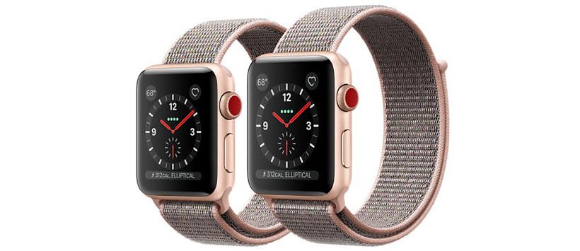 بند ساعت هوشمند اپل سری سوم با قفل چسبی