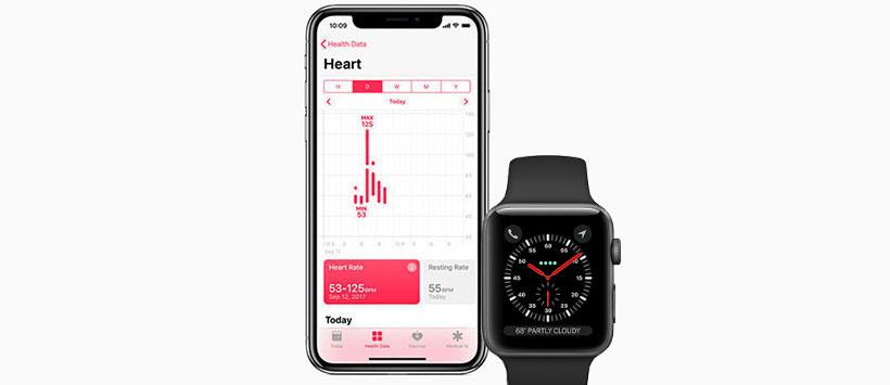 برنامه های مختلف سلامتی ساعت هوشمند اپل