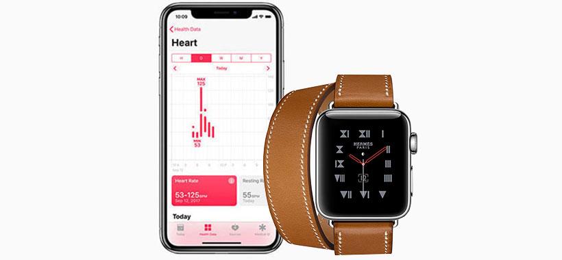 برنامه های مختلف ساعت هوشمند اپل برای سلامتی