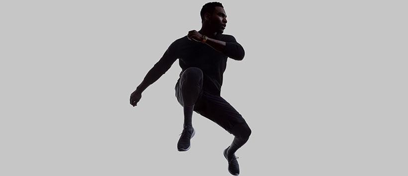 ارتفاع سنج اپل واچ برای سنجش میزان ارتفاع پرش در ورزش