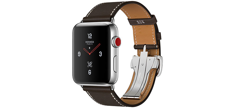 بند چرم و قفل سگکی بند ساعت هوشمند اپل