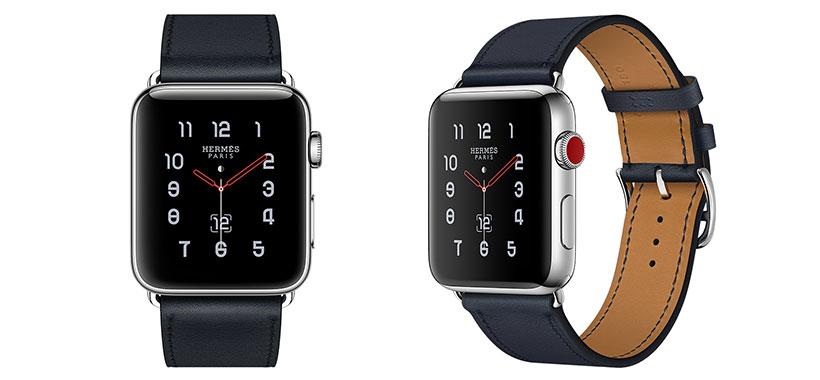 ساعت هوشمند اپل با بند چرم برای آقایون