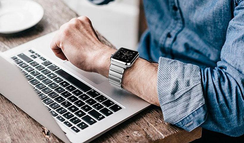 بند فلزی اپل واچ مدل Link Bracelet