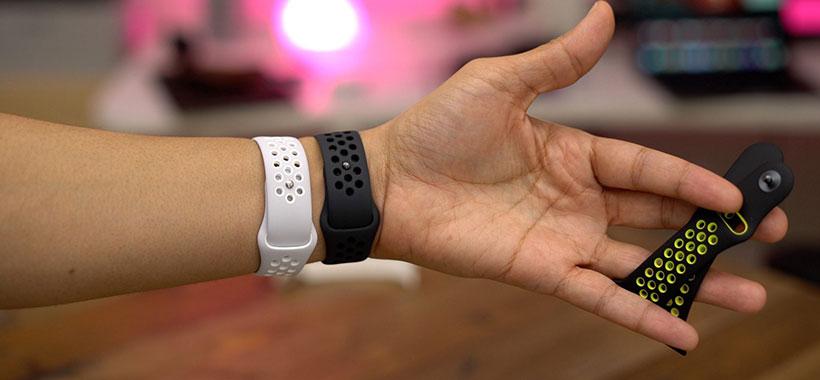قفل فشاری و طول مناسب ساعت هوشمند اپل