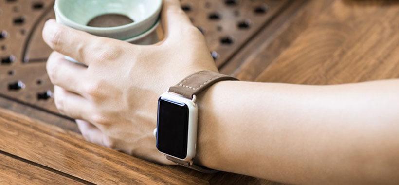 بند چرمی اپل واچ سری Optimal 42mm