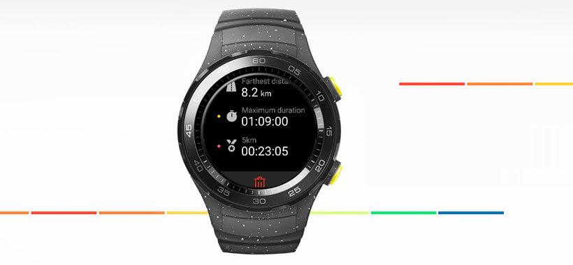 دریافت اطلاعات تناسب اندام با huawei watch 2