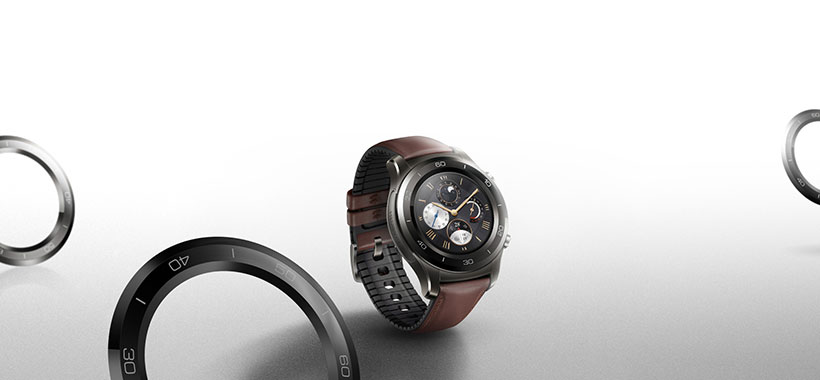 بدنه فولادی ضد زنگ ساعت هوشمند هواوی