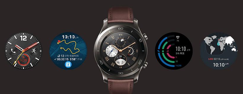 تم های متنوع صفحه نمایش Watch 2 Pro