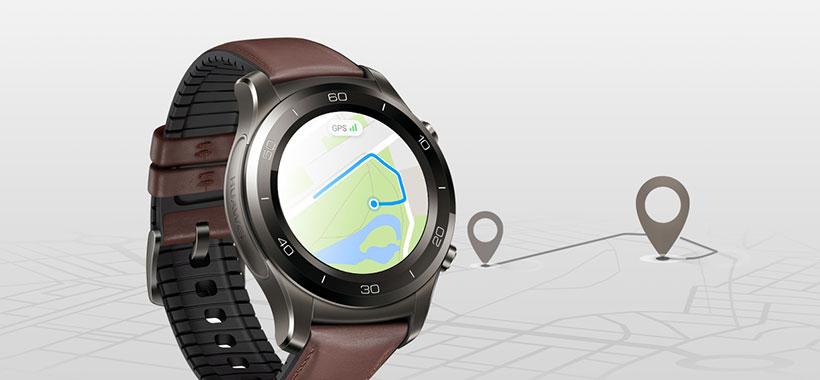 Watch 2 Pro مجهز به GPS برای مشاهده نقشه مسیر
