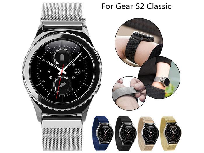 بند فلزی ساعت هوشمند سامسونگ Gear S2