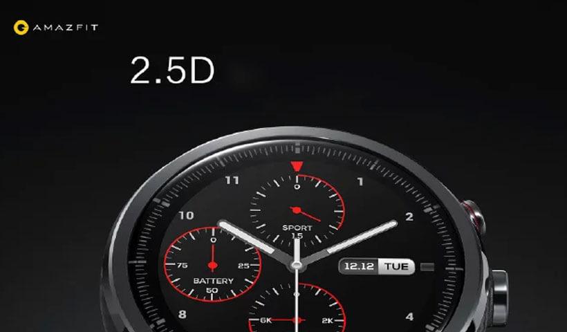 نمایشگر ساعت هوشمند شیائومی Huami Amazfit 2