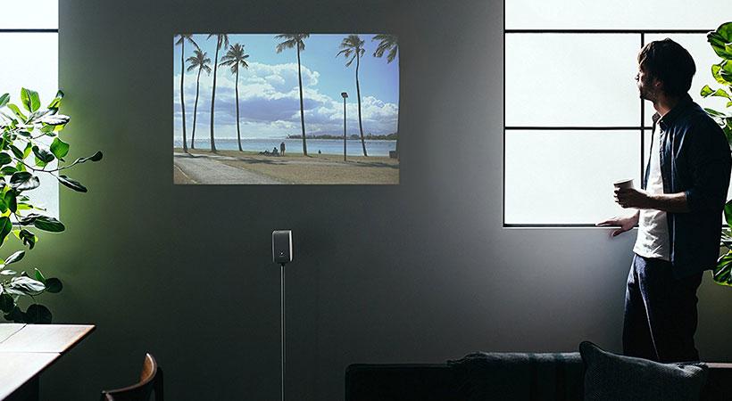 استند و شارژر پروژکتور سونی Sony LSPX-PS1 Portable Ultra Short Throw Projector Stand