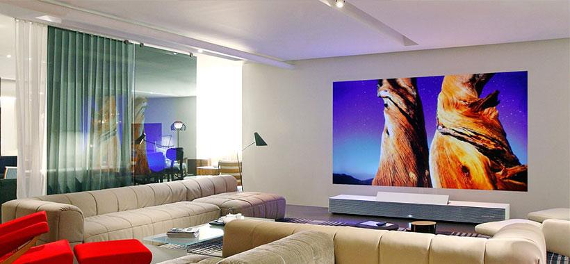 تماشای فیلم های عادی با رنگ ظبیعی در پروژکتور سونی