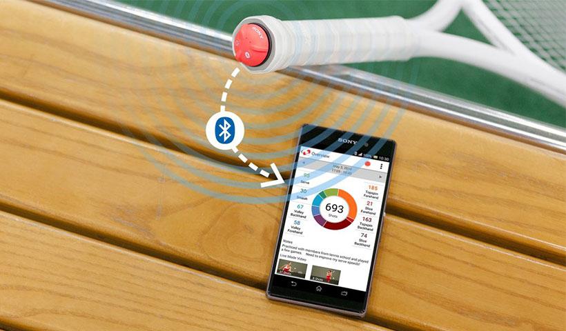 سنسور هوشمند تنیس سونی