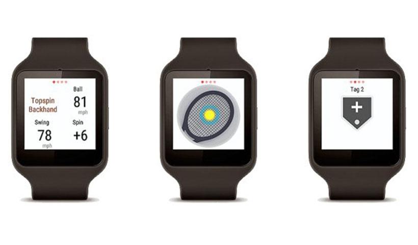 سنسور هوشمند تنیس سونی سازگار با ساعت هوشمند