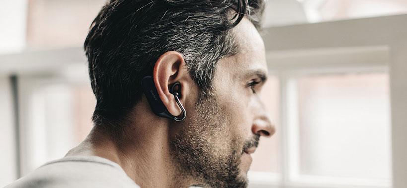 ارتباط بی سیم پایدار هدست سونی Xperia Ear Duo