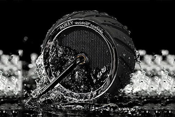 اسپیکر ضد آب آکی مدل تایر مینی