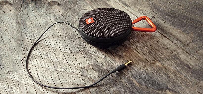 کابل صدای 3.5 mm اسپیکر پرتابل clip 2