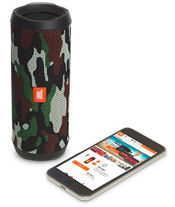 اسپیکر بلوتوث چریکی JBL Flip 4 Squad Bluetooth Speaker