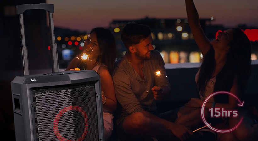 اسپیکر بلوتوث ال جی LG FH2 X-Boom Handy Speaker Bluetooth