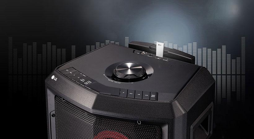 اسپیکر بلوتوث ال جی LG FH2 X-Boom Handy Speaker Bluetooth
