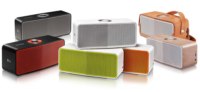 رنگبندی اسپیکر بلوتوث پرتابل الجی music flow p5