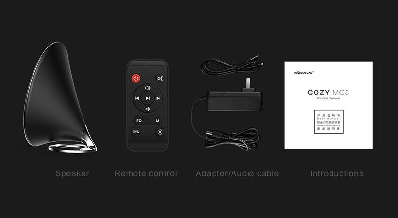 اسپیکر بلوتوث نیلکین Nillkin MC5 Bluetooth Speaker