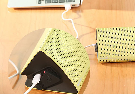 شارژ اسپیکر بلوتوث ریمکس با لپتاپ و کامپیوتر