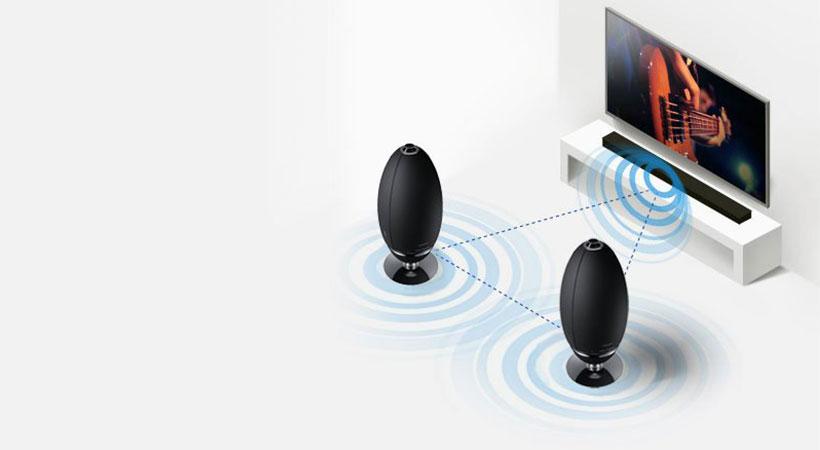 اسپیکر بلوتوث سامسونگ Samsung R7 Wireless 360° Smart Speaker