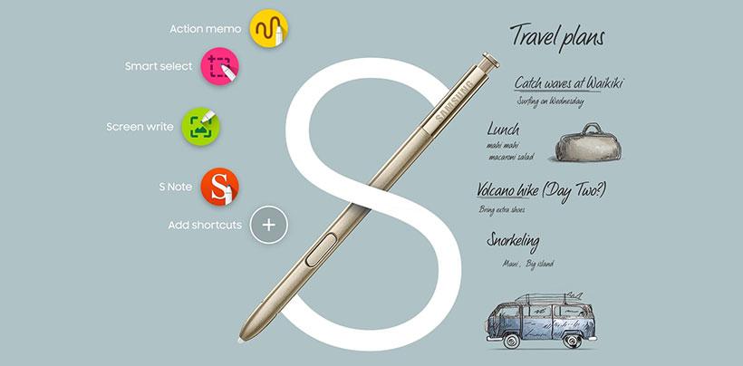 قلم اورجینال note 5
