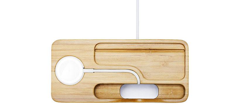 طراحی کاربردی و دقیق استند چوبی اسپیگن