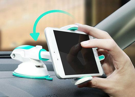 چرخش 360 درجه گوشی در استند بیسوس