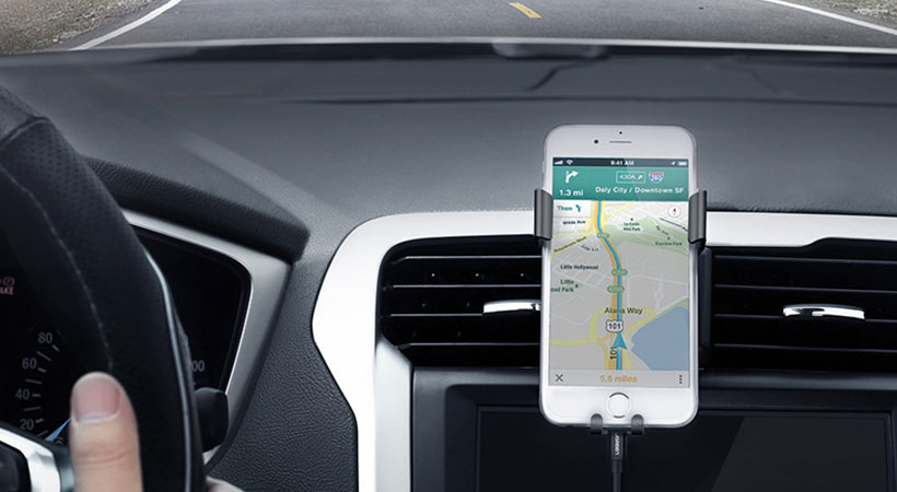 پایه نگهدارنده گوشی یوگرین Ugreen Gravity Drive Air Vent Mount Phone Holder