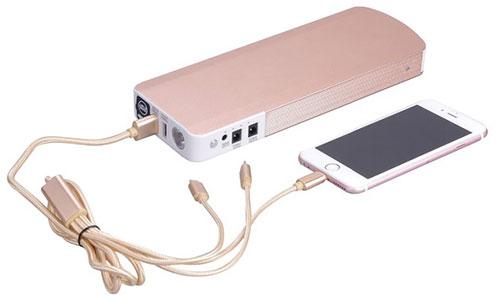شارژر همراه گوشی و تبلت و استاتر ماشین 18000mah
