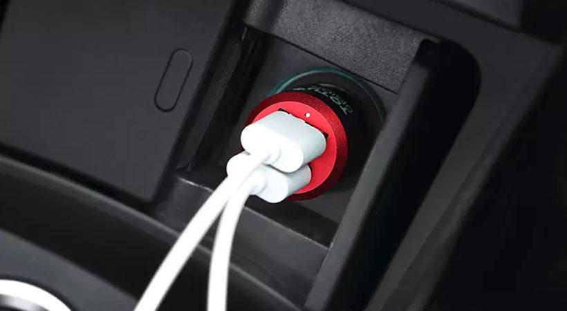 شارژر فندکی سریع توتو دیزاین Totu Design Dual Port Car Charger CC02