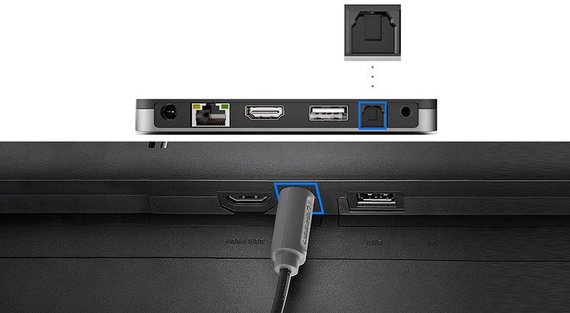 کابل انتقال صدای نوری یوگرین Ugreen AV122 Toslink Optical Audio Cable