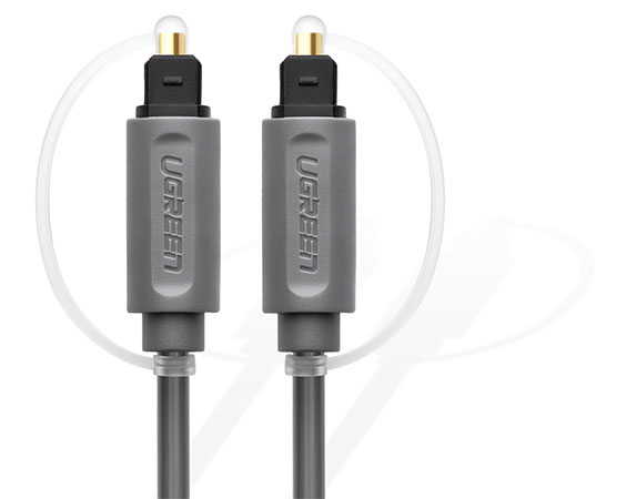 کابل انتقال صدای نوری یوگرین Ugreen AV122 Toslink Optical Audio Cable
