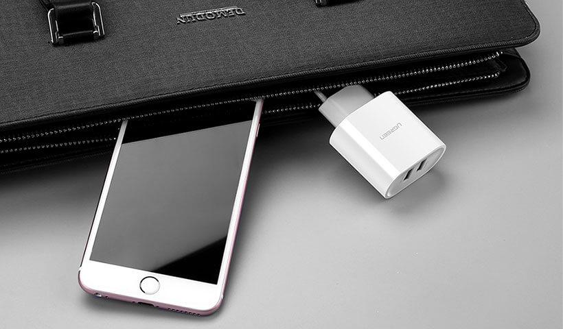 شارژر دیواری دو پورت USB یوگرین مدل CD104