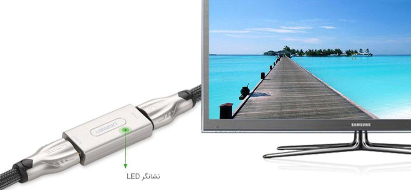 تقویت کننده سیگنال مجهز به نشانگر LED