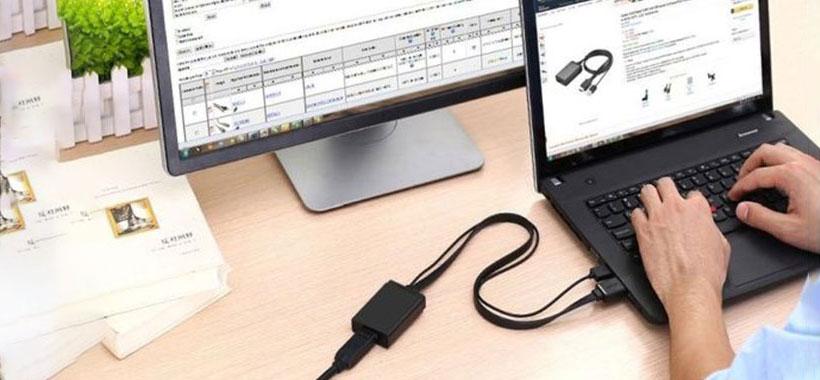 کابل یوگرین با قابلیت اتصال به نمایشگرهای بزرگ HD